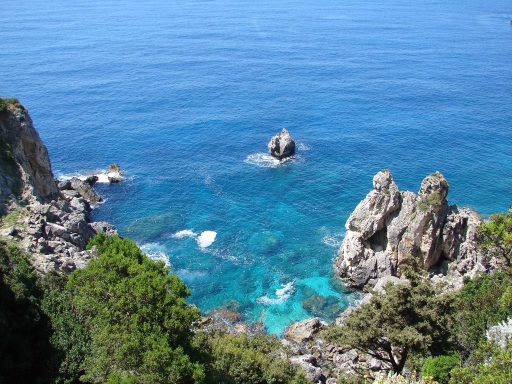 Palaiokastritsa Corfu Rocks